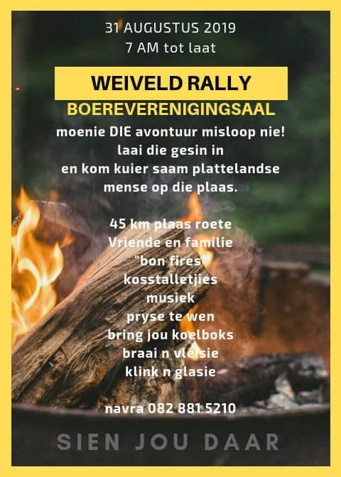 Weiveld Fun Rally